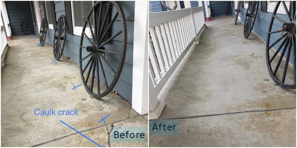 Long Grove Porch Raising Before and After